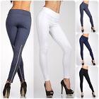 Women High Waist Slim Skinny Leggings Stretchy Trousers Jeggings Pencil Pants