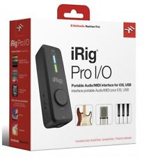 IK Multimedia iRig Pro I/O Audio and MIDI Interface for iOS/MAC/PC