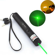 50 Miles Military Green 5MW 532NM Laser Pointer Lazer Pen Visible Beam Burn