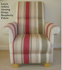 Laura Ashley Living Room Striped Armchairs