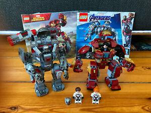 Lego Marvel Avengers   /Super Heroes Hulkbuster 76104 / War Machine Buster 76124