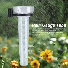 Plastique Pluviomètre Jauge Outils Mesure Tube Pour Eau Pluie Jardin 35mm