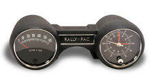 Scott Drake 1965 Mustang Black Rally Pac V8 6000 rpm with Mustang Logo on tach