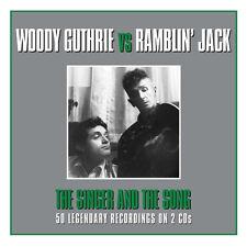 Woody Guthrie VS Ramblin' Jack Elliott SINGER & THE SONG Best 50 SONGS New 2 CD