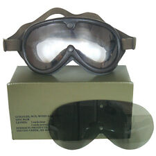 NEW - Military Tactical Sun Dust & Wind GOGGLES - SWAT BLACK
