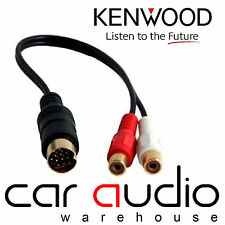 AUTOLEADS pc1-504 KENWOOD stereo auto radio iPod iPhone MP3 AUX In Adattatore Lead