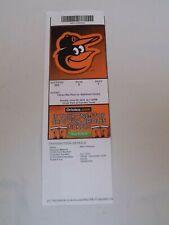 Baltimore Orioles vs Tampa Bay Rays Baseball Vintage Ticket Stub June 29 2014