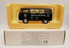LLEDO DAYS GONE 1996 TOY FAIR MODEL VW VOLKSWAGEN KOMBI VAN BLACK MINT & BOXED