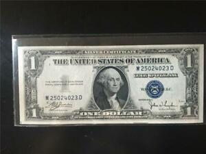FANCY GEM LADDER 1935C $1 SILVER CERTIFICATE