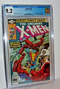 UNCANNY X-MEN #129 CGC 9.2 WHITE Pgs 1ST KITTY PRYDE EMMA FROST Perfect Case!