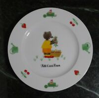 """Vintage Co. 1988 Petit Ours Brun Collection 97 Guy Degrenne Plate ~8"""""""