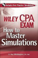Wiley CPA Exam: How to Master Simulations (with CD ROM), Whittington, O. Ray, Go