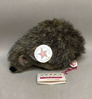 "Vintage Douglas Cuddle Higgins Hedgehog Porcupine Gray Plush Toy 12"" with Tags"