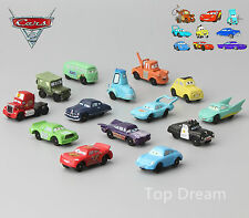 14pcs Movie Pixar Cars Mater Action Figures Play Set Cake Topper Boy Gift New