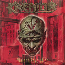 Kreator – Violent Revolution 2x LP Red Vinyl + CD Gatefold New Re (2017) Metal
