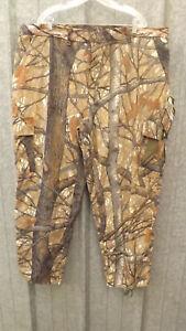 NEW Vtg Ideal Skyline Apparition Camo Saddle-Cloth Hunting Pants sz XXL 44-48