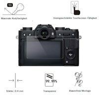 Fuji X-T20 0,4 mm Adhäsion Displayschutzglas Schutzfolie LC7649
