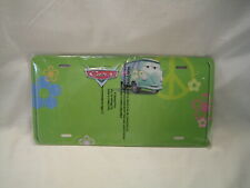 2006 Disney Kelloggs Pixar Cars Fillmore Vw Hippie Volkswagen Van License Plate
