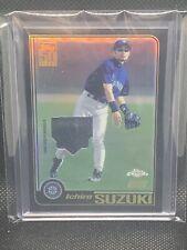 2020 Topps Chrome Ichiro Suzuki Game Used Jersey Relic #5/25 Orange Refractor