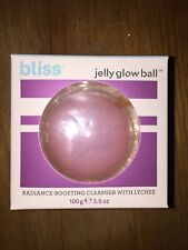 Bliss Brand Jelly Glow Ball Radiance Face Cleanser Wash Lychee Target Skincare