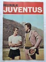 HURRA' JUVENTUS N. 4 APRILE 1972 + POSTER VIOLA FABIO CAPELLO DERBY TORINO