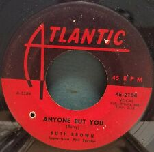Ruth Brown | R&B Soul 45 | It Tears Me All To Pieces / Anyone But You | Atlantic