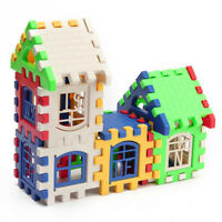 Baby Kids Child House Building Block Educational Developmental Toy Brain Game CP