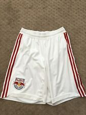 adidas New York Red Bulls - White Shorts Medium