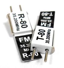 RC Radio Remote Control 35 MHz 35.200 FM Cristal Simple 35 MHz Conversion Ch 80