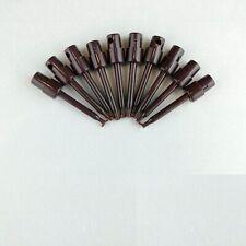 "10x Brown 2.3"" Test Clip SMD Grabber IC Hook Multimeter Probe 5.7cm USA"