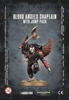 Blood Angels Chaplain With Jump Pack Games Workshop Warhammer 40000 GW 40k 41-17