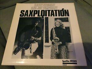 LP - SAXPLOITATION - KATHY STOBART/JOE TEMPERLEY QUINTET - SPOTLITE