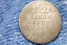 MUNSTER GERMAN CITY STATE: 1/12 THALER MAXIMILIAN FREDERICH KONIGS ROTHENFELS
