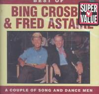 BING CROSBY - THE BEST OF BING CROSBY & FRED ASTAIRE USED - VERY GOOD CD