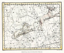 Astronomy Celestial Atlas Jamieson 1822 Plate-05 Art Paper or Canvas Print