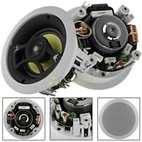 """2 Pack 5.25"""" In-Ceiling Speakers 80W RMS 2-Way DCM by MTX Home Audio"""