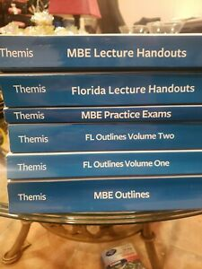 2020 Themis Bar Exam Review Florida ---Multistate UBE Set MBE MPT MEE