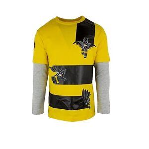 Boys Lego Batman Long Sleeved Top Yellow