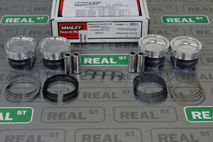 Manley Forged Platinum Series Pistons 87.5mm 9.5:1 Mazdaspeed3 MZR 2.3 630000C-4
