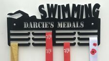 Holder Rack Thick 5mm Acrylic 1Tier SWIMMING Medal Hanger Ideal Gift