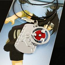 Hot Naruto Sharingan Necklace For Uchiha Sasuke Cosplay Hatake Kakashi Gifts