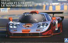Aoshima 1/24 Model Car Kit Gulf Racing McLaren F1 GTR #41 24Hours Le Mans 1997