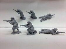 EWM Ww1brit31 1/76 Diecast WWI 3 British Highland Infantrymen Firing Rifles