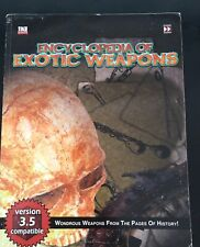 TSR AD&D DUNGEONS AND DRAGONS - ENCYCLOPEDIA OF EXOTIC WEAPONS - D20 FAF2019