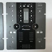 faceplate Pioneer djm 250 mk1  mixer dj cdj
