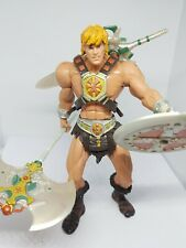 MOTU 200x He-Man Mattel 2001 - Action Figure rare first issue complete