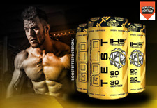 GOLD TEST IHS Iron Horse Series 90 CAPS BOOSTER TESTOSTERONE Tribulus