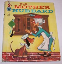 Vintage Old Mother Hubbard Tip-Top Elf Children's Book - A Rand McNally Book