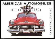 AMERICAN AUTOMOBILES of the 1950s - Collectors Cards - Chevy Dodge Cadillac Ford