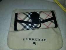 AUTHENTIC PREOWNED BURBERRY Nova Check Long Continental Checkbook Wallet